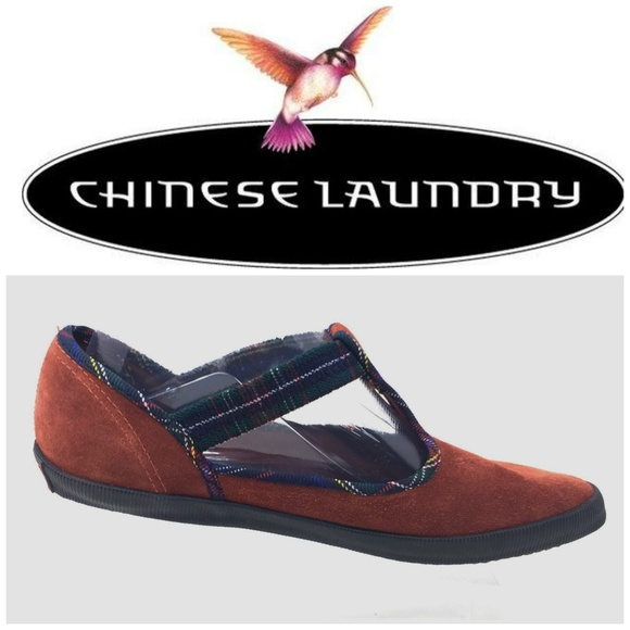 Chinese Laundry Shoes Zuma Iii Sz 75 Suede Mary Janes Poshmark